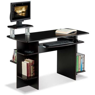 Picture of Desk With Bookcase Side