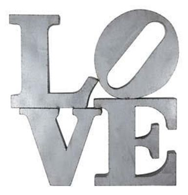 Picture of Love Metal Word