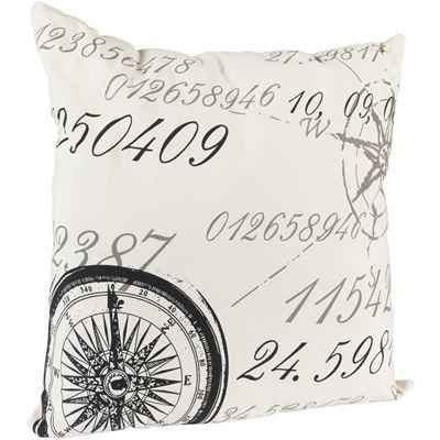 Imagen de 20x20 Compass Script Pillow *P