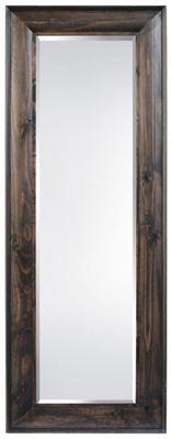 Imagen de Dark Oak Finish Leaner Mirror