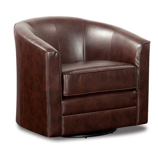 Beau Bonded Leather Swivel Chair
