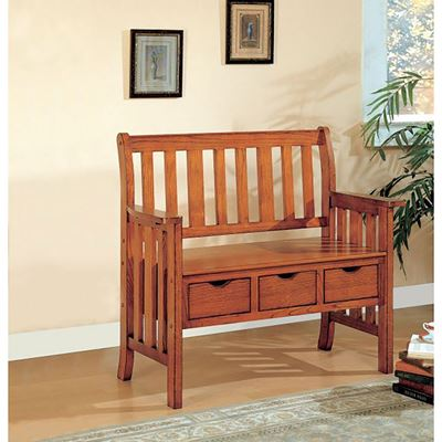 Picture of Storage Bench, Wbrown *D