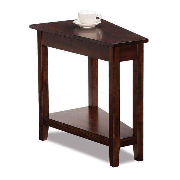 Picture Of Pie Dark Chocolate Chairside Table