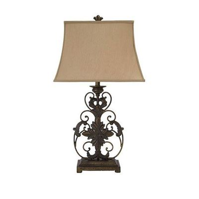 Imagen de Home Accents Metal Table Lamp (1/CN) *D