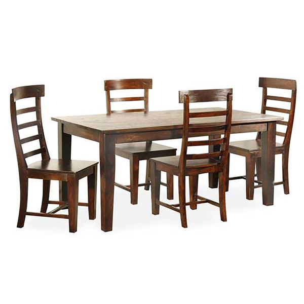 Picture Of Tahoe Bangle 5 Piece Dining Set