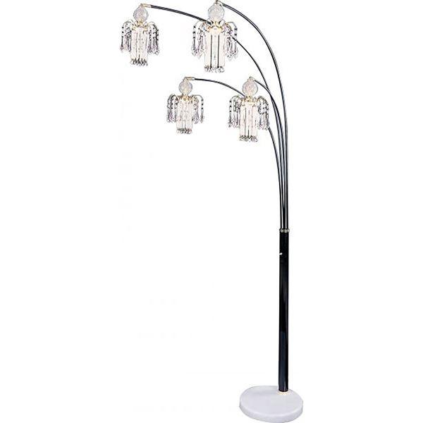 Floor Lamp Black 1771n Coaster Company Afw