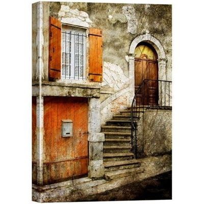Picture of Doorway Canvas Giclee