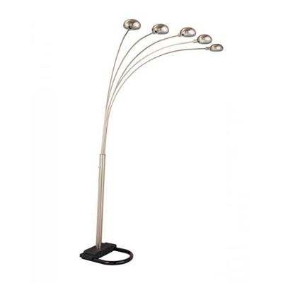 Imagen de Arc Lamp, Black/Chrome *D