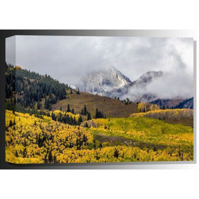 Picture of A Glimpse of Capital Peak 48x32 *D