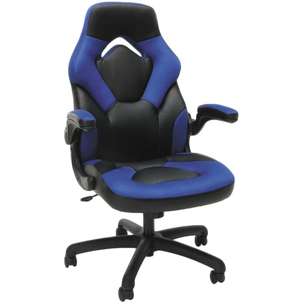 Blue High Back Gaming Chair
