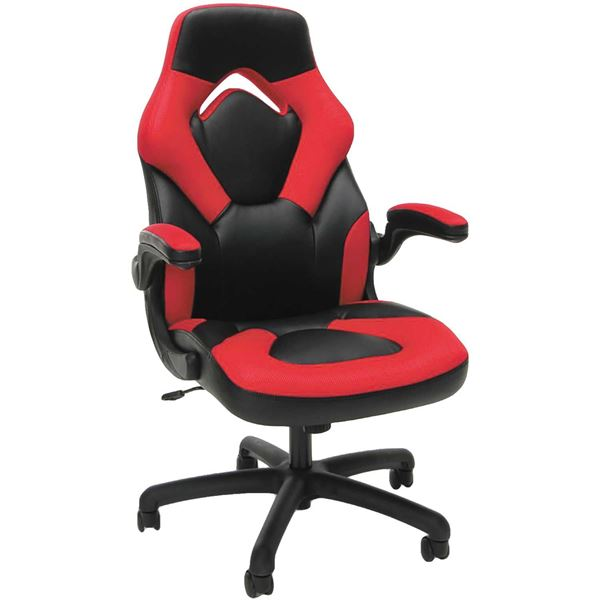Picture Of Red High Back Gaming Chair