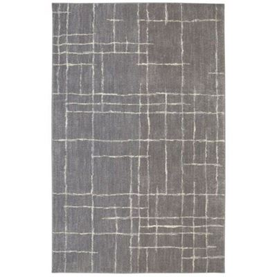 Picture of Berkshire Chatham Grey Grid 5x8 Rug