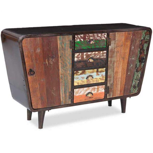 sie a1287 mid century modern rustic sideboard by shivam. Black Bedroom Furniture Sets. Home Design Ideas