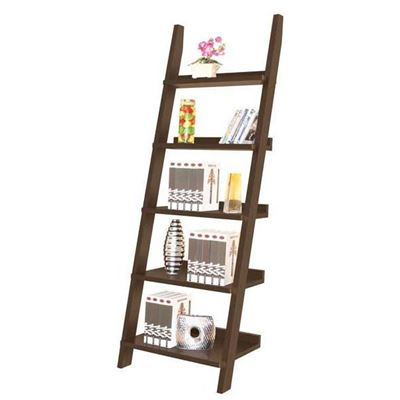Picture of Red Cocoa Ladder Shelf