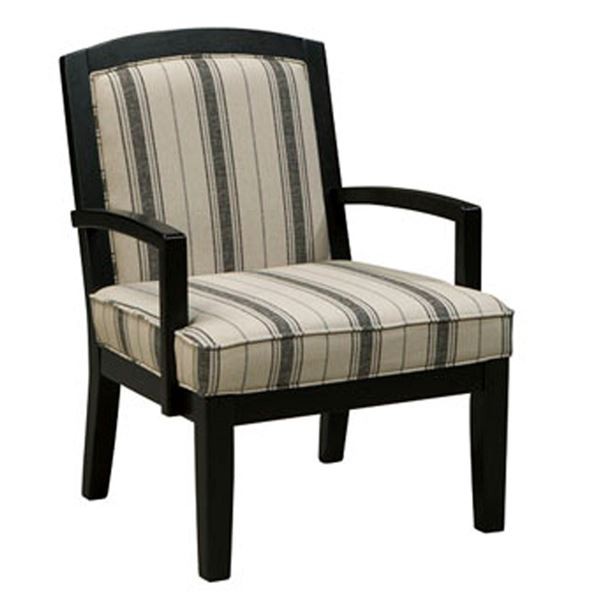 Picture of Aleyna Stripe Showood Chair