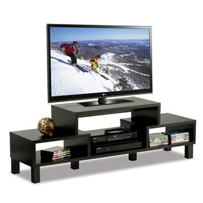 "Picture of 60"" HDTV Stand, Black"