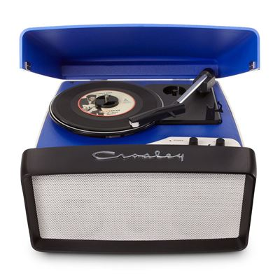 Picture of Collegiate Portable USB Turntable, Blue *D