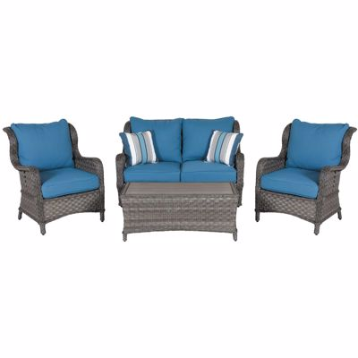 Abbots Court 4 Piece Patio Set
