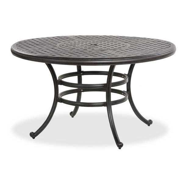 Castle Rock Round Cast Aluminum Patio Table A By