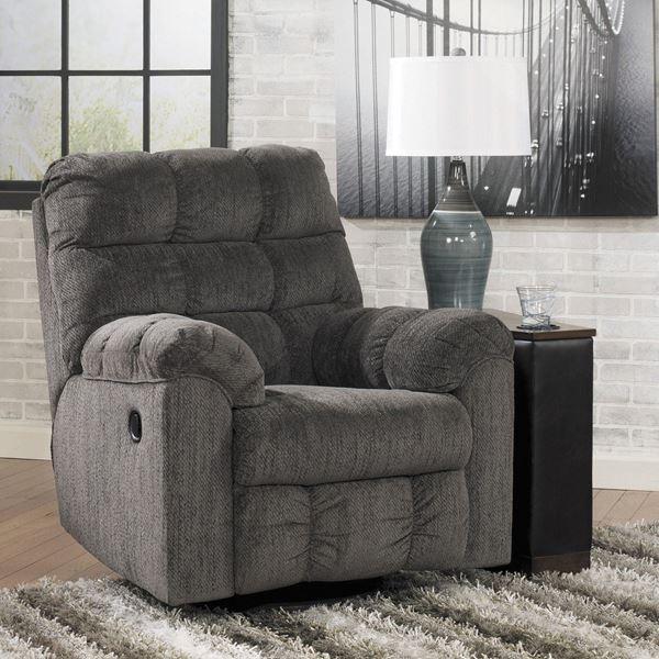 slate swivel rocker recliner hh 583 rr ashley furniture afw