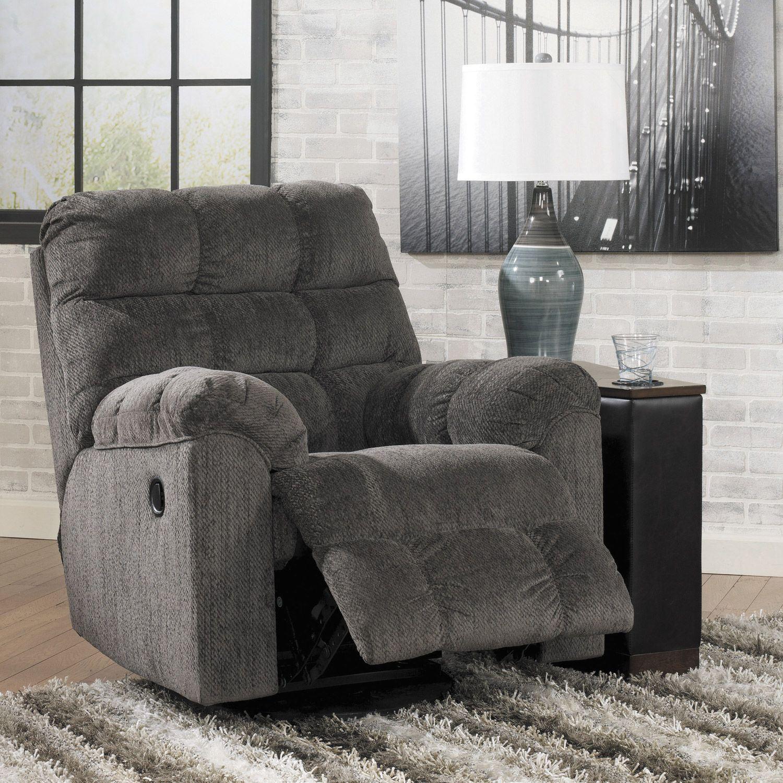 Where Is The Nearest Ashley Furniture Store: Slate Swivel Rocker Recliner HH-583-RR