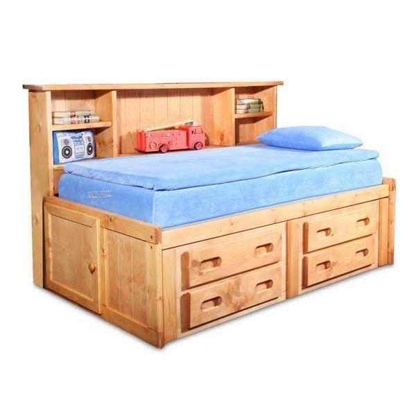 Bunkhouse Twin Captains Bed 4116 Twincapt Trendwood