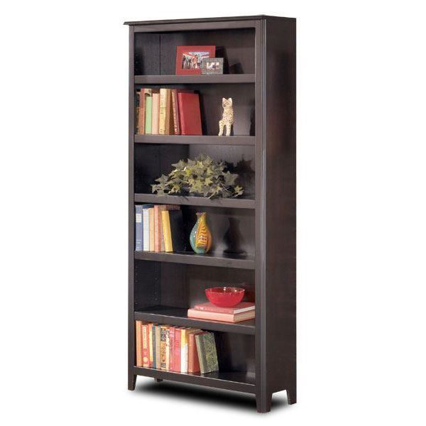 American Furniture Warehouse Bookcases: Carlyle Large Bookcase H371-17