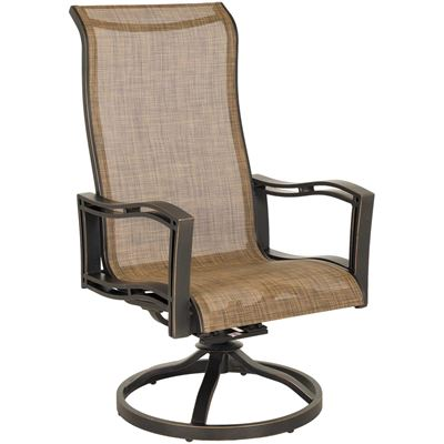 Picture of Delano Dining Swivel Sling Chair