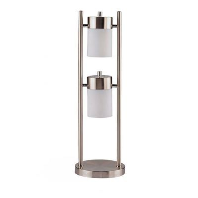 Picture of Table Lamp, Burshed Silver *D