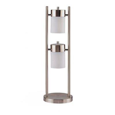 Imagen de Table Lamp, Burshed Silver *D