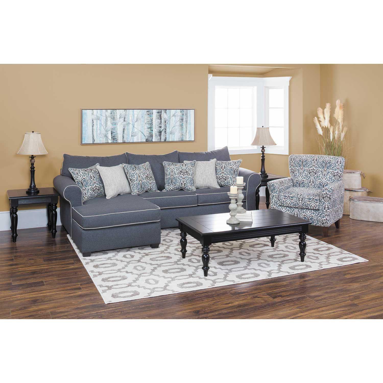 Winchester Gray Ottoman 5045 751 Washington Furniture Afw