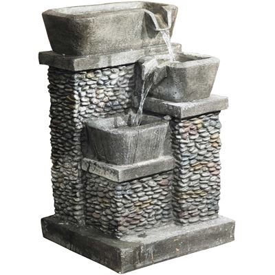 Picture of THREE TIER STONE FOUNTAIN