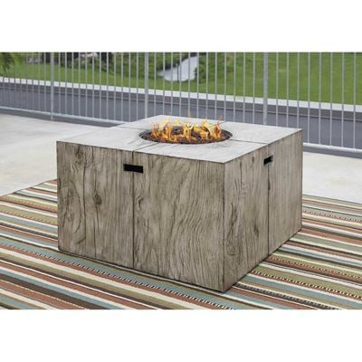 Picture of Peachstone Square Fire Pit Table