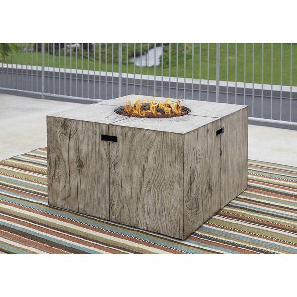 Exceptionnel Peachstone Square Fire Pit Table