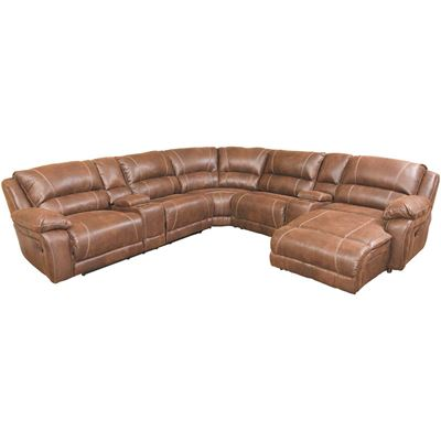 Picture of Renegade Mocha 4 Piece Reclining Sectional