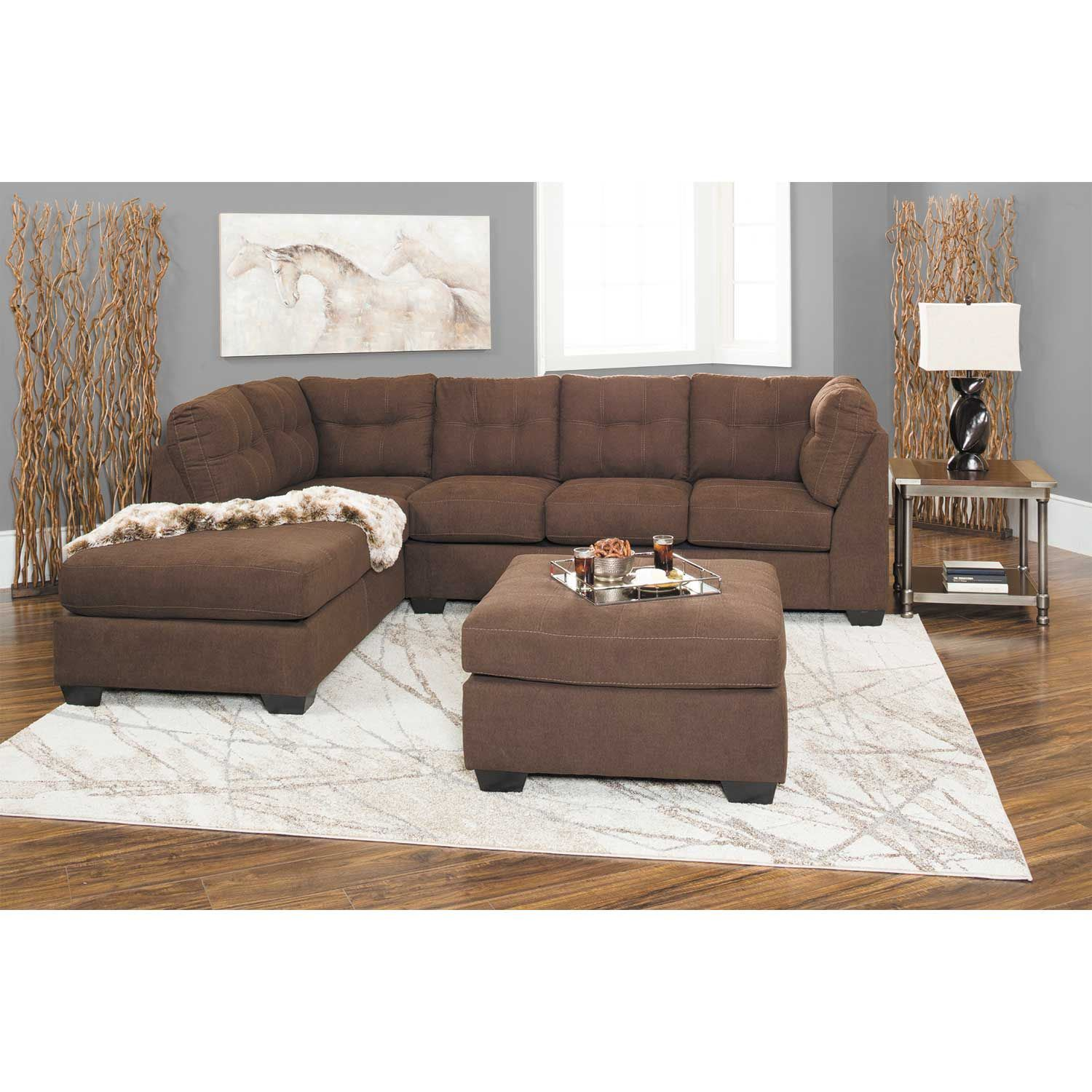 Maier walnut ottoman 4520108 ashley furniture afw Ashley home furniture weekly ad