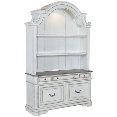 Imagen de Magnolia Credenza and Hutch Set