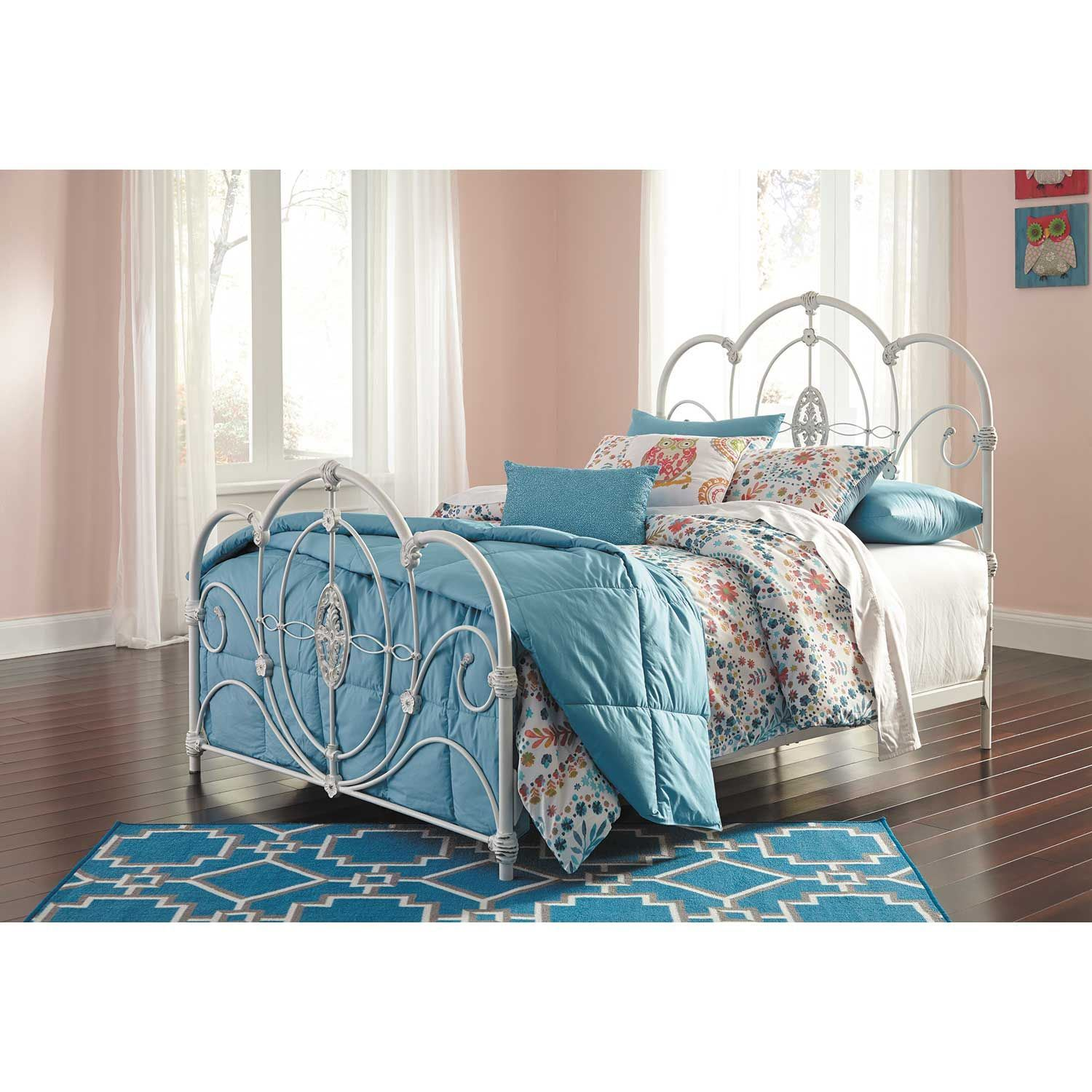 Good Picture Of Loriday Twin Metal Bed