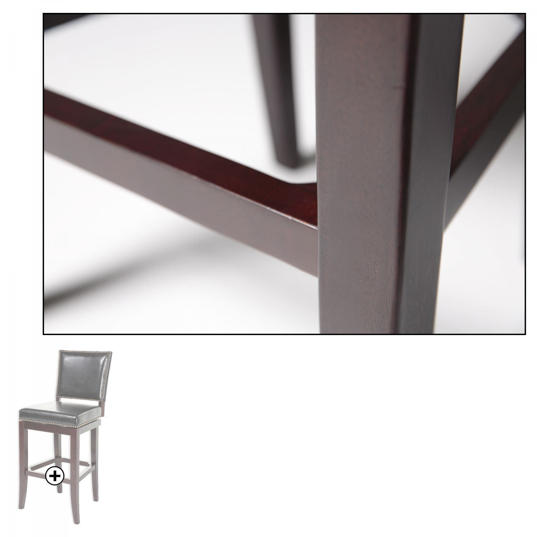 Sacramento Wood Counter Stool D C1x116 Fashion Bed