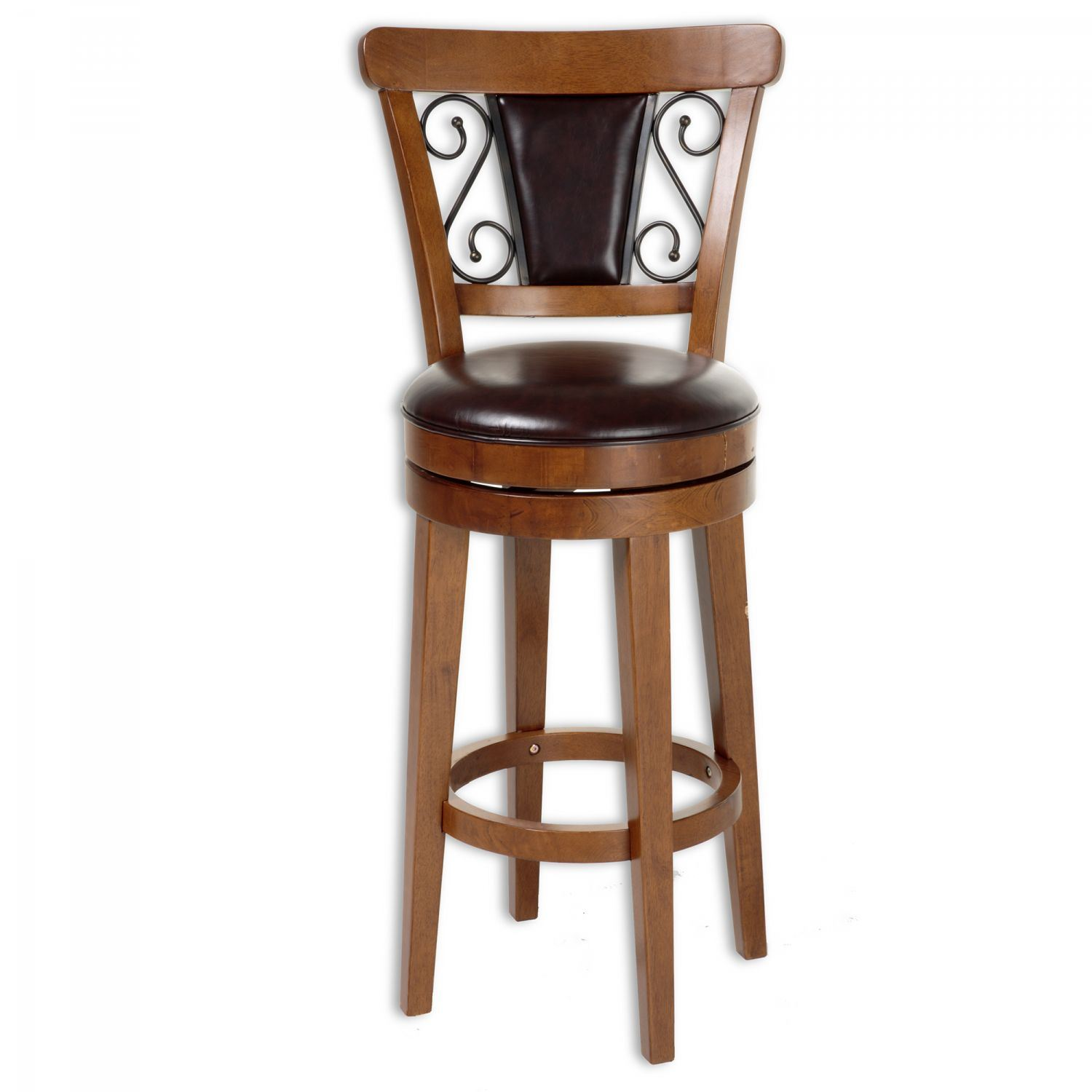 Trenton Wood Counter Stool D C1x076 Fashion Bed