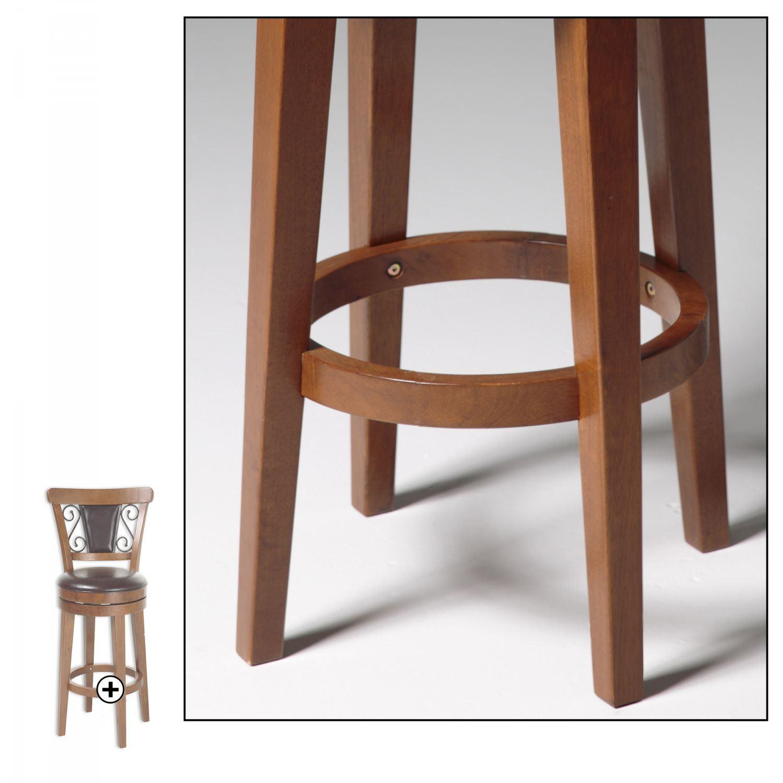Trenton Wood Counter Stool D C1x076 Fashion Bed