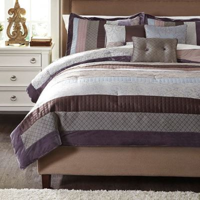 Picture of Kady King Comforter Set *D