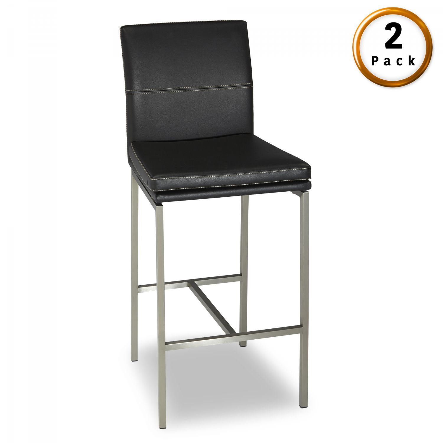 Phoenix Metal Bar Stool 2 Pack D C1x1602 Fashion Bed