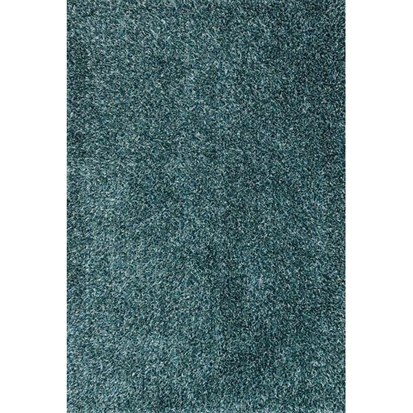 Charisma Aqua Teal Shag 5X7 164-CATL-57