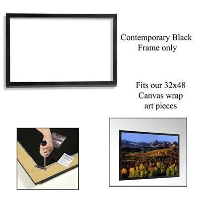 Picture of Contemporary Black Frame 32X48