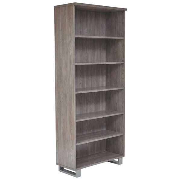 Manhattan Tall Bookcase, Grey