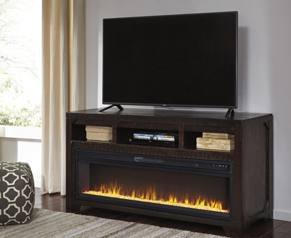 Rogness TV Stand With Fireplace W74558W10022 Ashley Furniture
