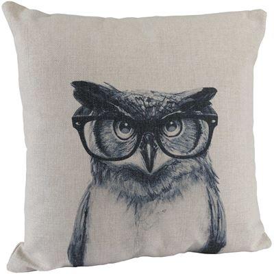 Imagen de Studious Owl 18x18 Pillow