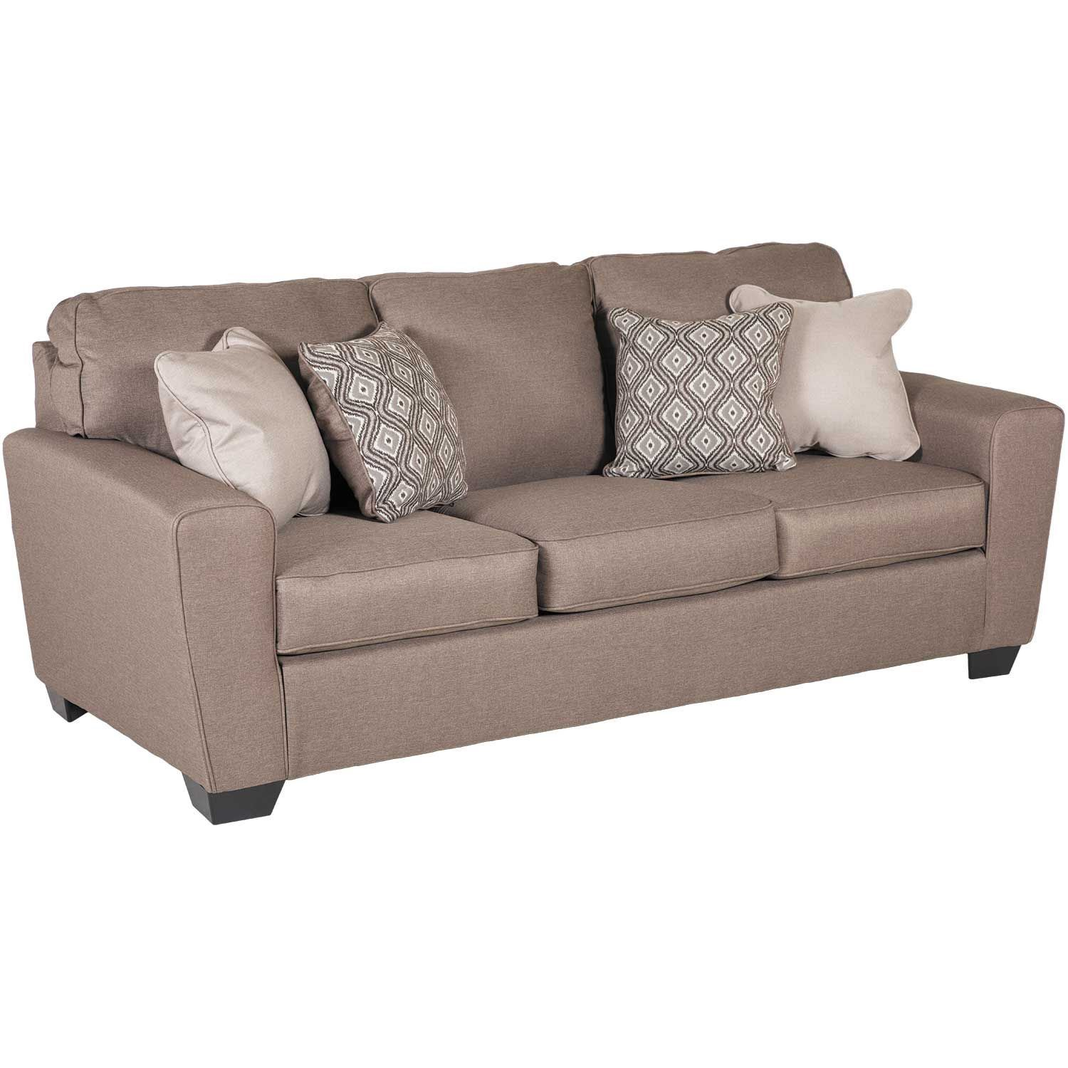 ... Picture Of Calicho Cashmere Queen Sleeper Sofa ...