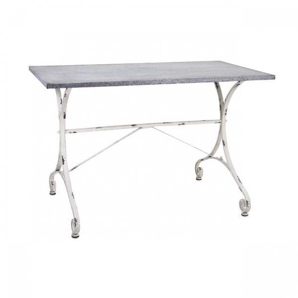 Foto para Galvanized Accent Table